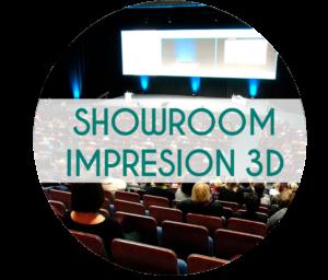 showroom impresión 3d